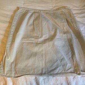 Old Navy Khaki Wrap Skirt